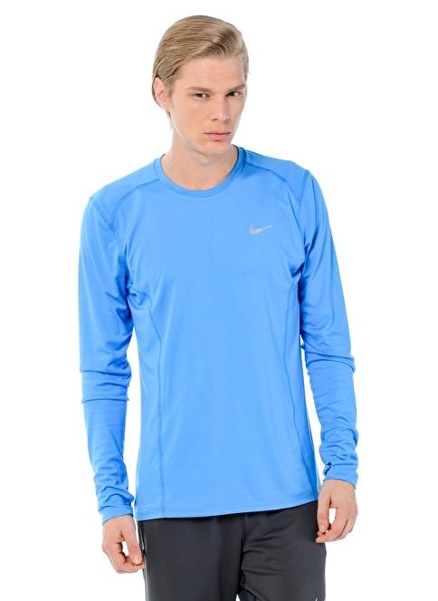 Nike Bisiklet Yaka Tişört Mavi